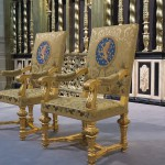 http://www.dreamstime.com/royalty-free-stock-photo-royal-seats-as-used-inauguration-new-king-thrones-queen-netherlands-willem-alexander-april-image30872015