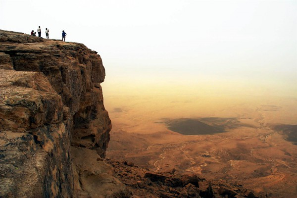 Makhtesh Ramon-Mount Negev-box canyon-Grand Canyon