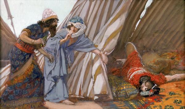 Jael Shows to Barak Sisera Lying Dead-James Tissot