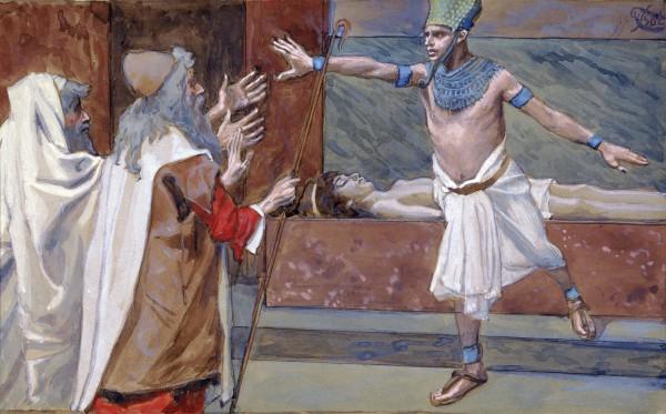 Pharaoh and his dead son-James-Tissot