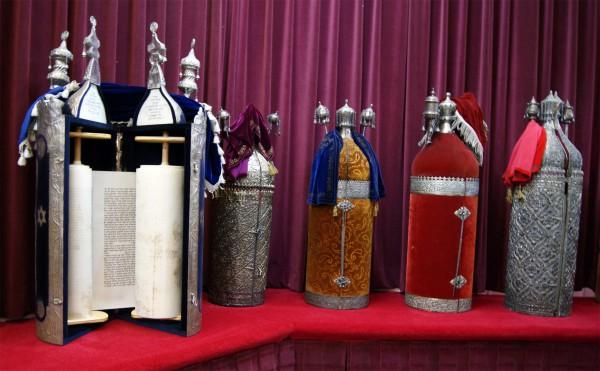 Torah scrolls-Torah cases-tiks