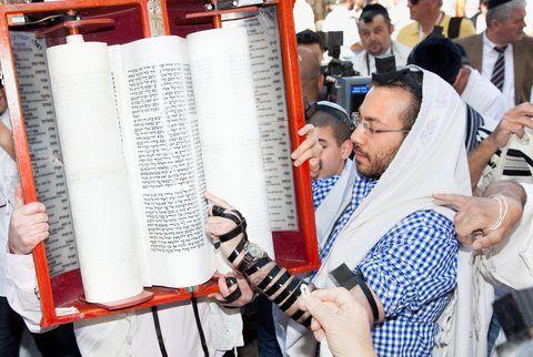 Torah scroll-Tefillin-Jerusalem