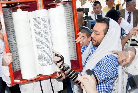 Torah scroll-Tefillin-Jerusalem