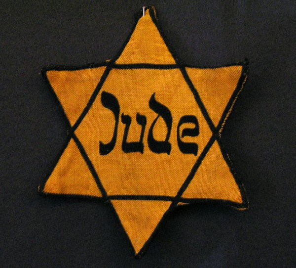Nazi-yellow badge-id badge