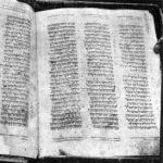 1910 photo_Deuteronomy 4:38–6:3_ missing leafs_Aleppo Codex.