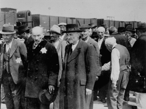 Russian Jews-Selection-Auschwitz