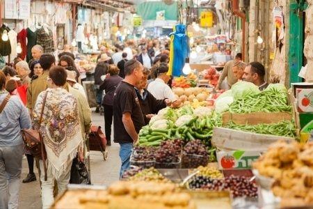 Mahane Yehuda-Market-Jerusalem-Israelis-shopping