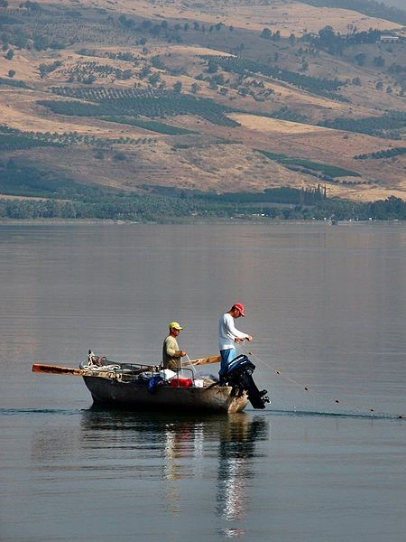 Fishing-Sea of Galilee-Kinneret- Lake of Gennesaret-Lake Tiberias