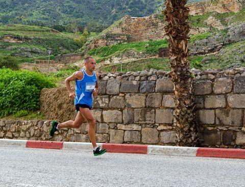 Dov Kremer-Runs-Tiberius-Marathon