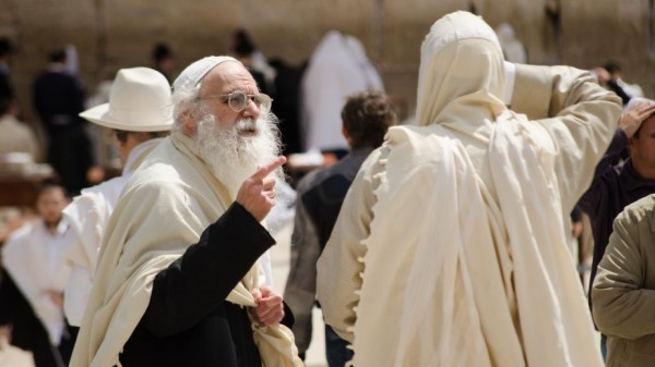 conversation-Wailing Wall-Jerusalem