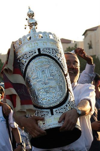 Torah-Silver Tik-Rimmonim