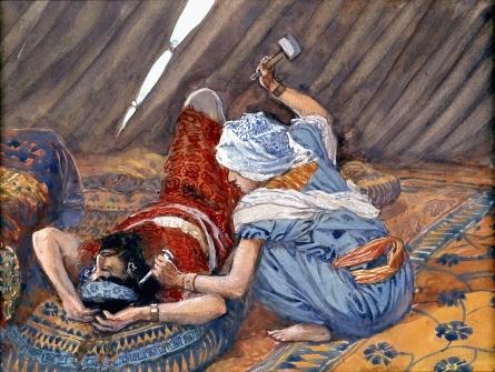 Jael Smote Sisera and Slew Him-James Tissot