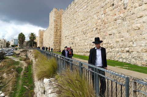Jerusalem-Wall-Orthodox