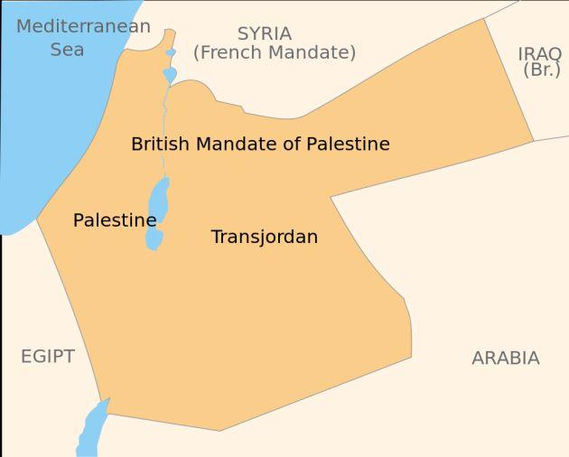 Map-British-mandate-Palestine-Transjordan-Jewish State