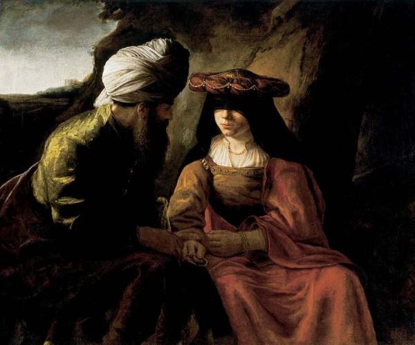 Judah-Tamar-Rembrandt