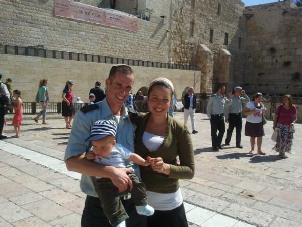 Israel-Defense-Forces-Western Wall-Jerusalem
