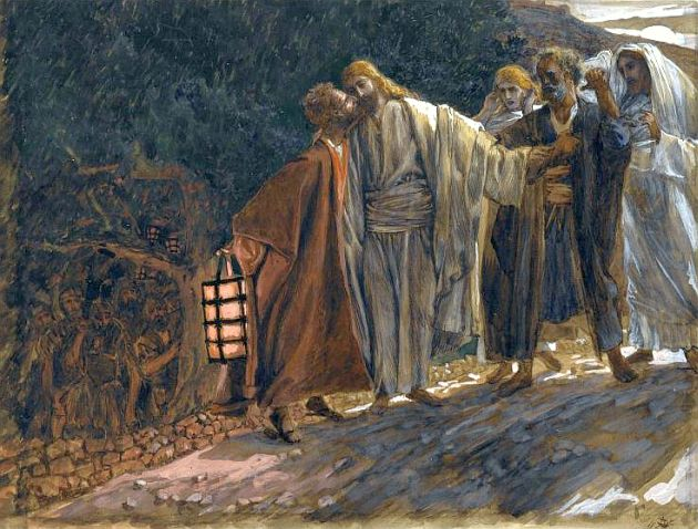 Brooklyn Museum-The Kiss of Judas-James Tissot