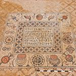 Mosaic floor_Byzantine Monastery_Israel Antiquities Authority