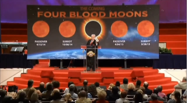 John Hagee presents information on the coming Blood Moon Tetrad. (YouTube capture)