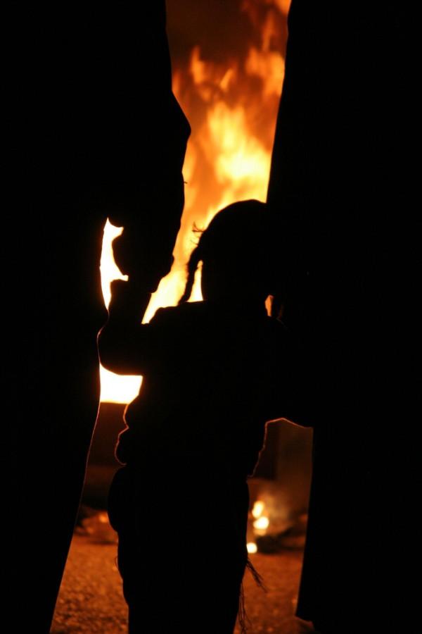 Lag b'Omer-Bonfire-Israel