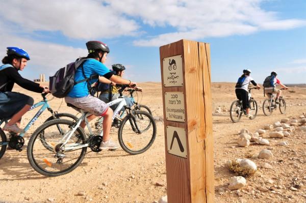 Tel Nizana-youth-cycling