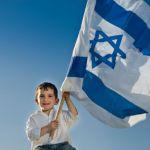 boy-Israeli-flag