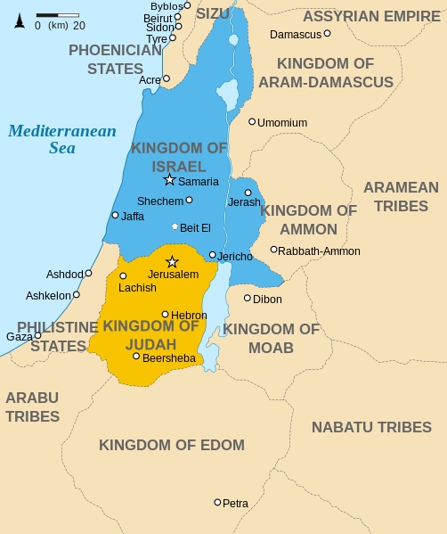 Northern-Southern-Kingdom-Judah-David-Solomon