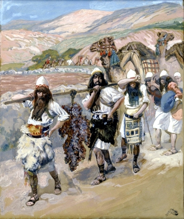 The Grapes of Canaan-James Tissot