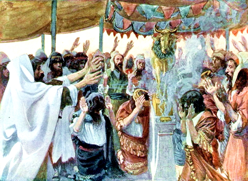 The Golden Calf-James Tissot