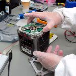 Duchifat 1, a nanosatellite designed and produced by Israeli teens to locate lost travelers, was launched into space on June 19, 2014.