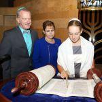 Torah scroll-bat mitzvah-Jewish milestones-family