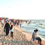 A beach in the Gaza Strip.