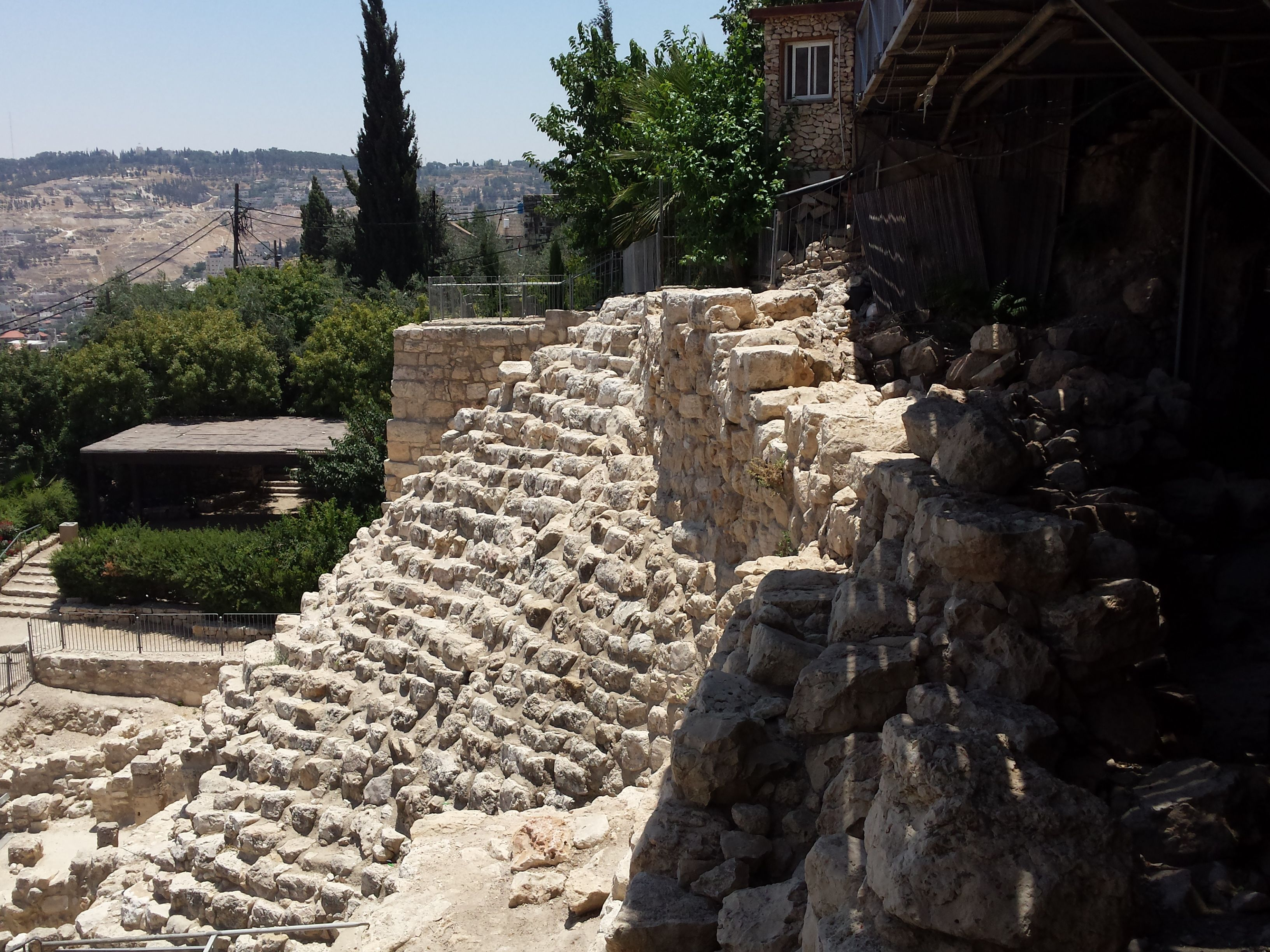 At the City of David in Jerusalem, Israel has uncovered the ruins of the impressive Canaanite fortress that once protected the city and guarded the precious Gihon Spring.