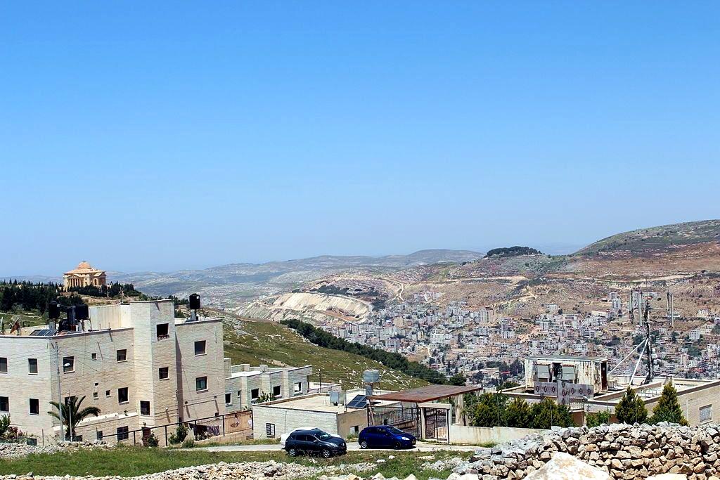 Mount Ebal Mount Gerizim Nablus Shechem