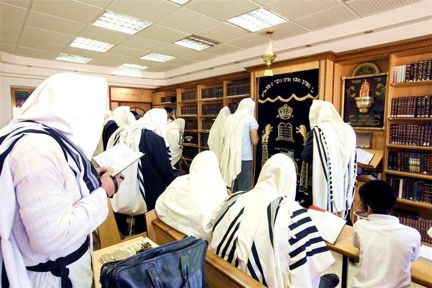 Morning prayer in Safed, Israel (Photo credit: Go Israel, Itamar Grinberg)
