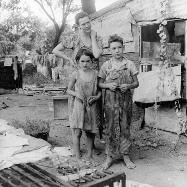 mother-children-Dorothea Lange-Great Depression-poverty