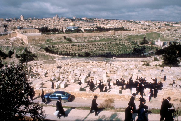 Mount of Olives Cemetery Orthodox Jews