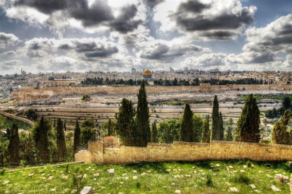 Temple Mount of Olives