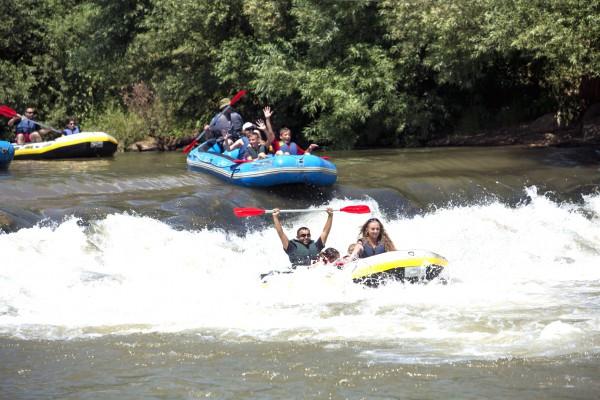 White water rafting Galilee Jordan River