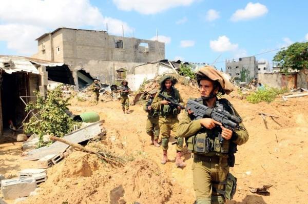 IDF Israeli soldiers terrorist tunnels Gaza