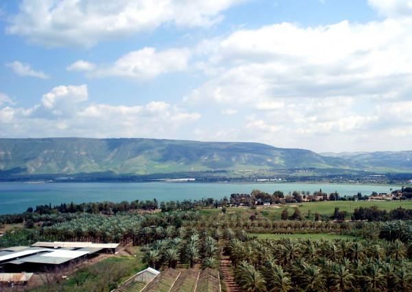 Jordan River Valley Sea of Galilee