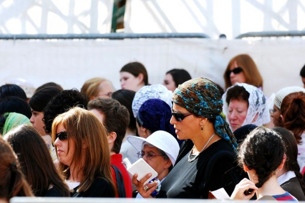 Jewish women pray in Jerusalem