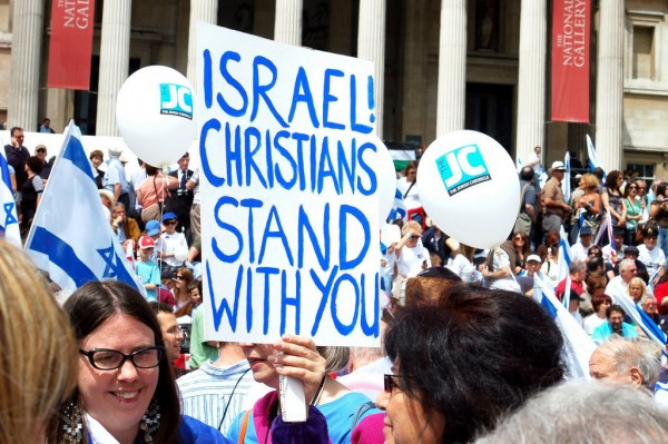 parade-festival-anniversary-State of Israel-British Christians-London