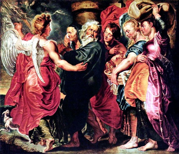 The Departure of Lot and His Family from Sodom, by Peter Paul Rubens