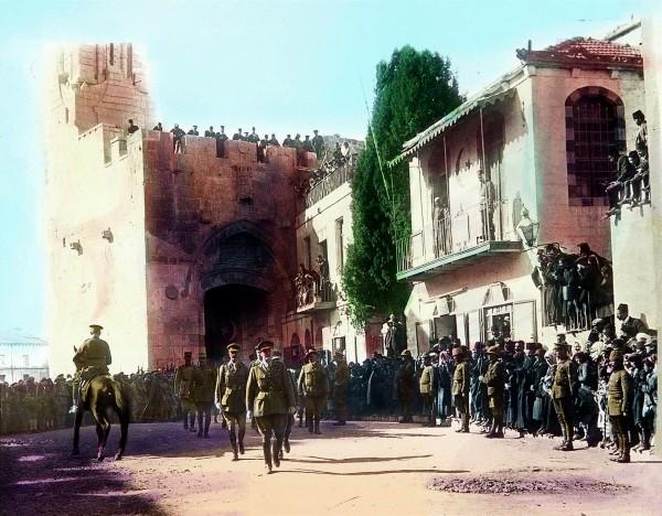 British General Edmund Allenby Jerusalem's Old City
