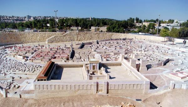 Second Temple Model-Herod-Temple Mount