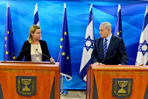 Jerusalem_Benjamin Netanyahu_Federica Mogherini