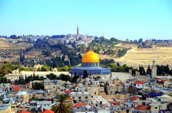 Temple Mount-Dome-Rock