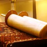 The Torah scroll