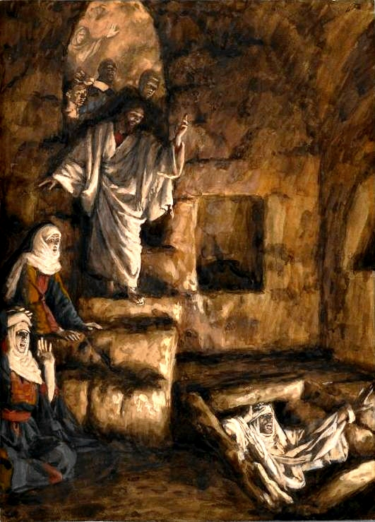 The Resurrection of Lazarus, by James Tissot